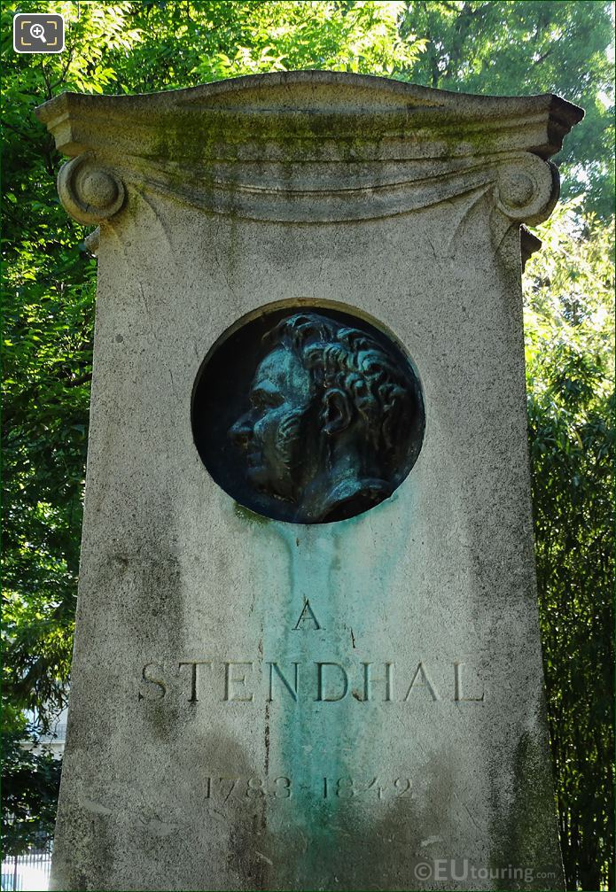 Stendhal Or Henri Beyle Commemorative Monument
