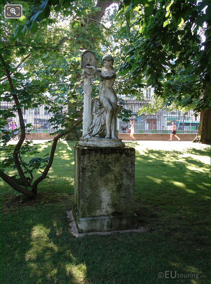 La Bocca Della Verita Statue By Jules Blanchard