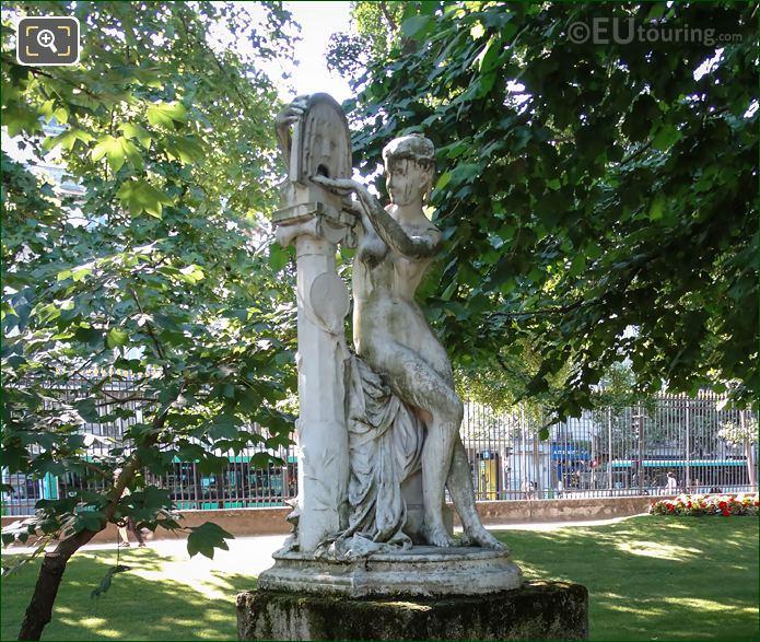 The Marble Statue La Bocca Della Verita