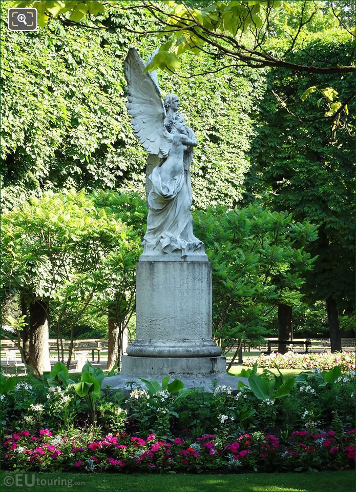 Jardin Du Luxembourg Statue Leconte De Lisle