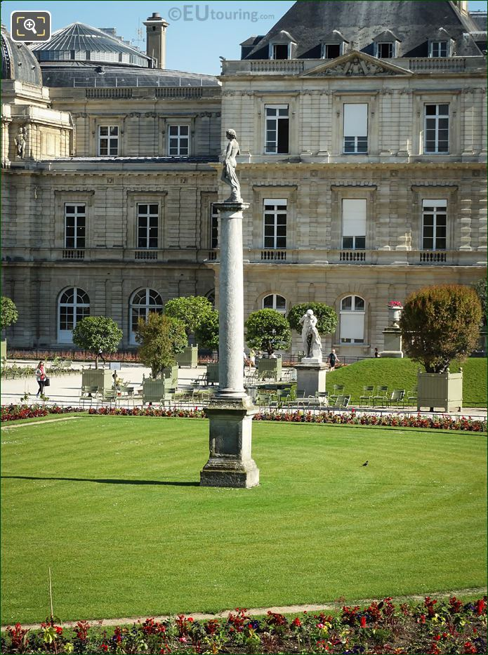 David Vainqueur De Goliath Statue Jardin Du Luxembourg