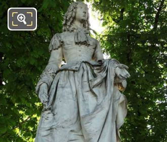 Anne Marie Louise d Orleans Statue Luxembourg Grdns