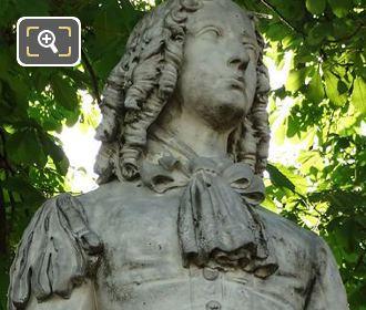 Statue Of Anne M L d Orleans