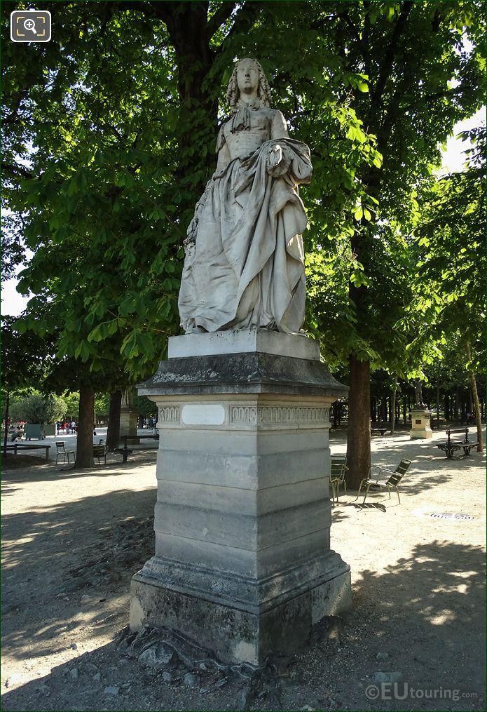 1848 Statue Of Anne M L d Orleans