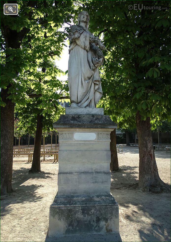 1851 Louise De Savoie Statue By Auguste Clesinger