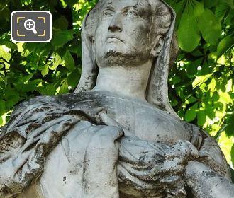 Marble Statue Of Louise De Savoie