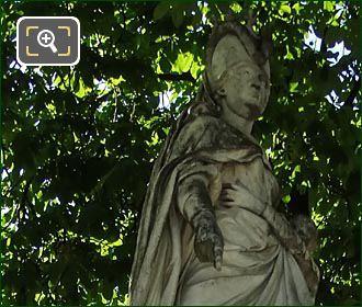 Marguerite Of Anjou Statue In Jardin Du Luxembourg
