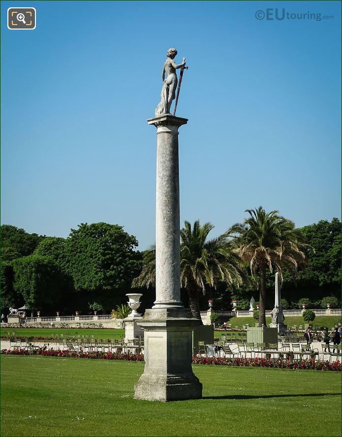 David Vainqueur De Goliath Statue South Side