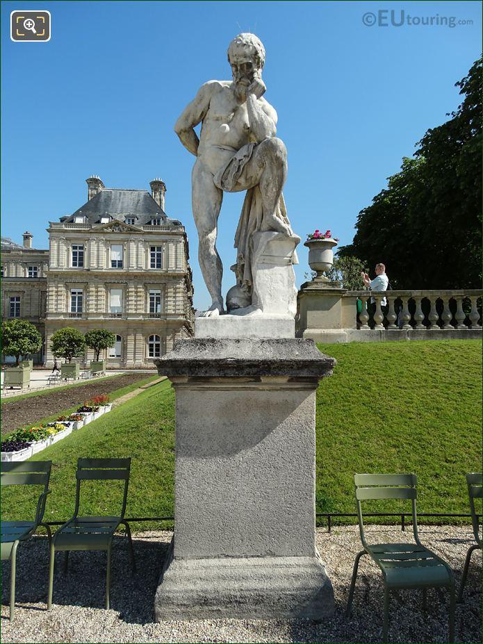 Marius Debout Sur Les Ruines De Carthage Statue