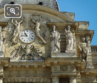 La Paix Statue On Palais Du Luxembourg