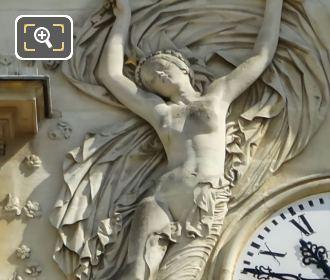 Le Jour Sculpture Palais Du Luxembourg Clock