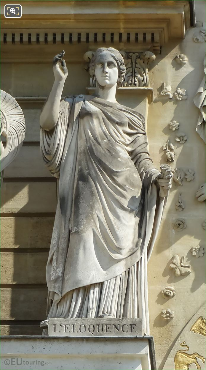 l'Eloquence Statue By James Pradier