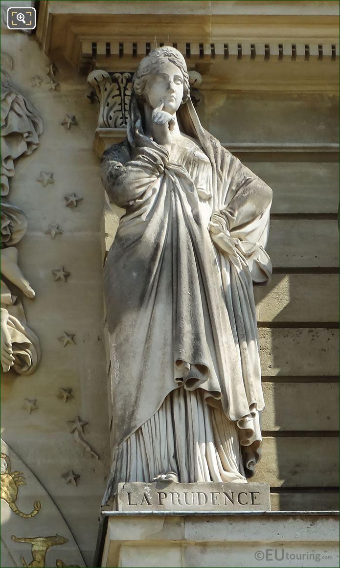 La Prudence Statue Palais Du Luxembourg