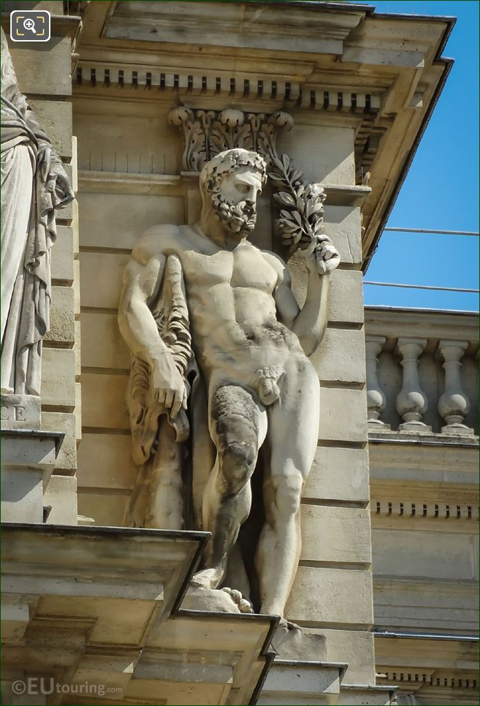 La Paix Statue By Artist James Pradier