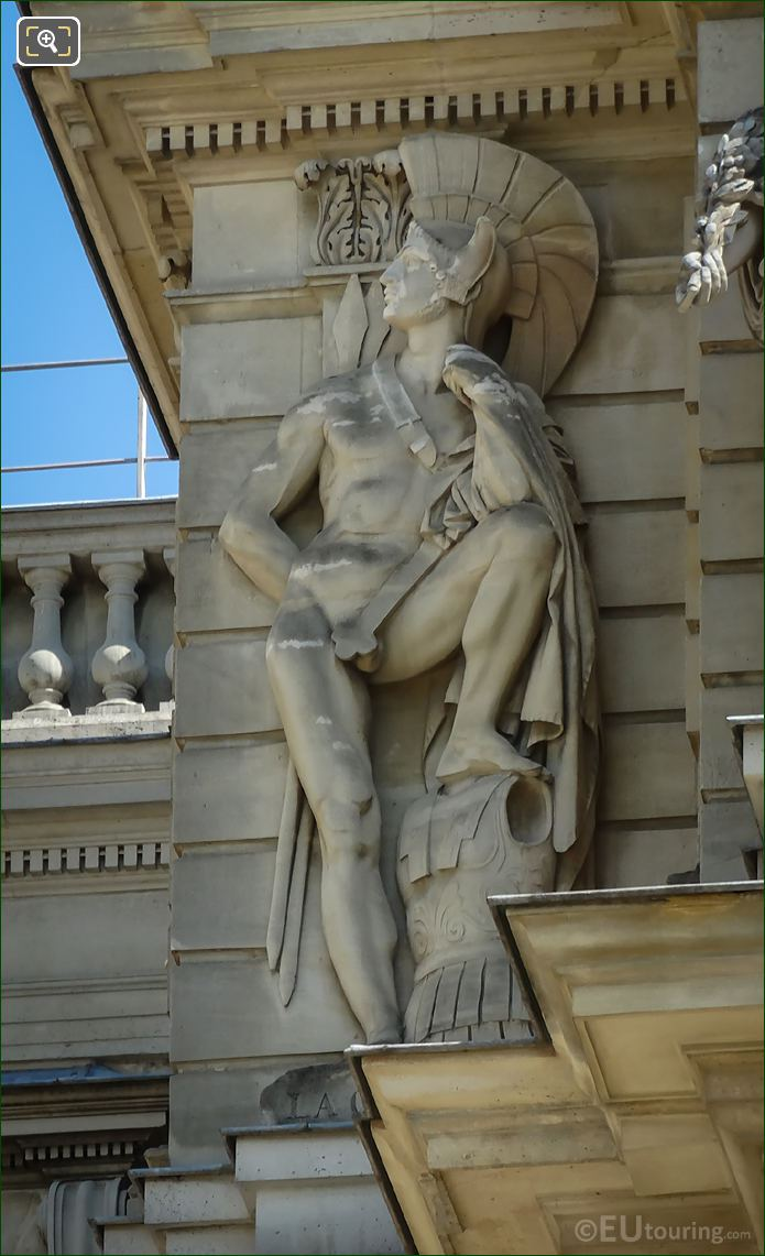 La Guerre Statue By James Pradier