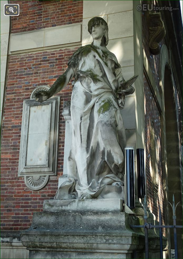 La Peinture Statue By Jules Franceschi