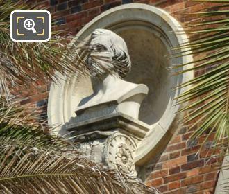 Ferdinand Victor Eugene Delacroix Bust Jardin Du Luxembourg
