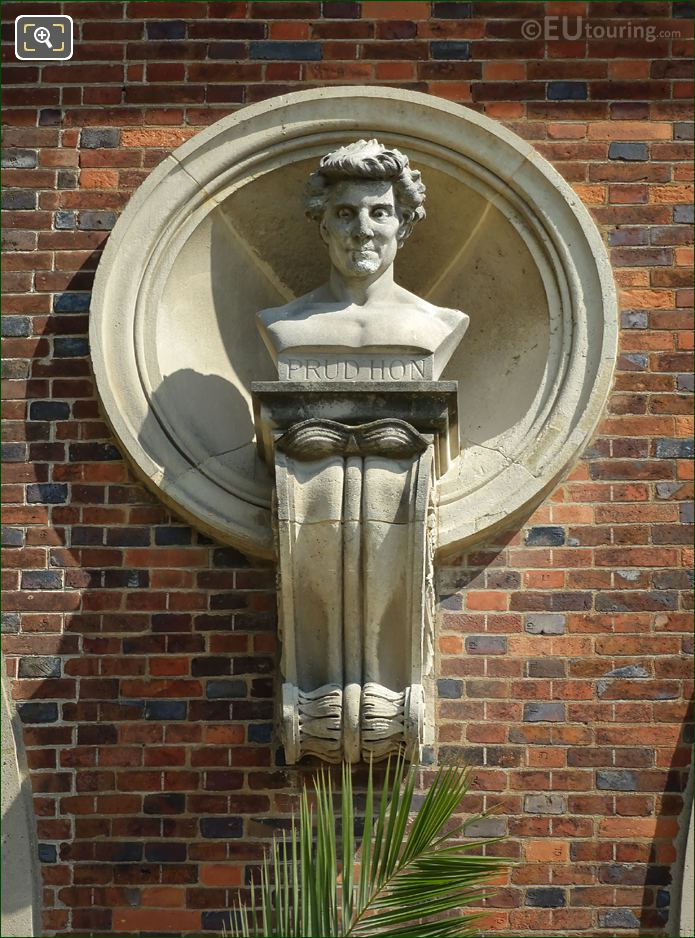Pierre Paul Prud'Hon Statue On Orangerie