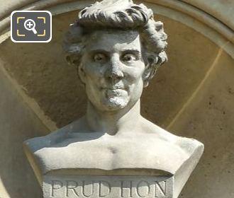 Pierre Paul Prud'Hon Bust By Gustave Joseph Debrie