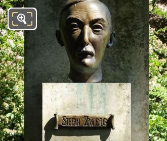 Stefan Zweig Monument By Felix Schivo