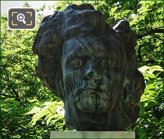 Bust Of Ludvig Van Beethoven By E Bourdelle