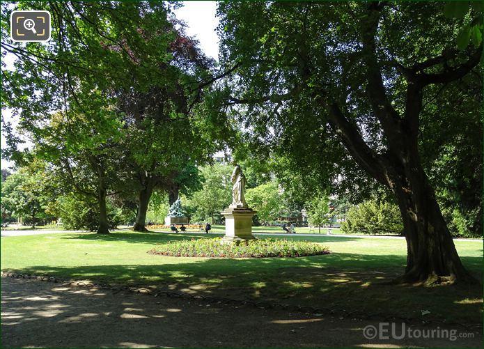Luxembourg Gardens Michel Anguier Statue l Hiver