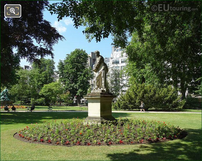 Jardin Du Luxembourg Statue l Hiver