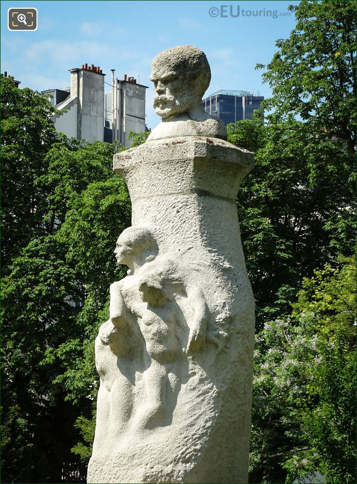 Paul Verlaine Monument By Auguste De Niderhausen-Rodo