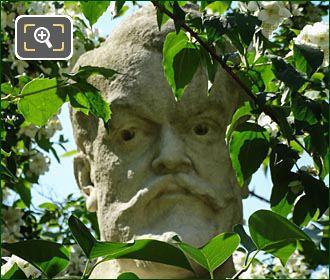 Gabriel Vicaire Statue By Jean-Antoine Injalbert