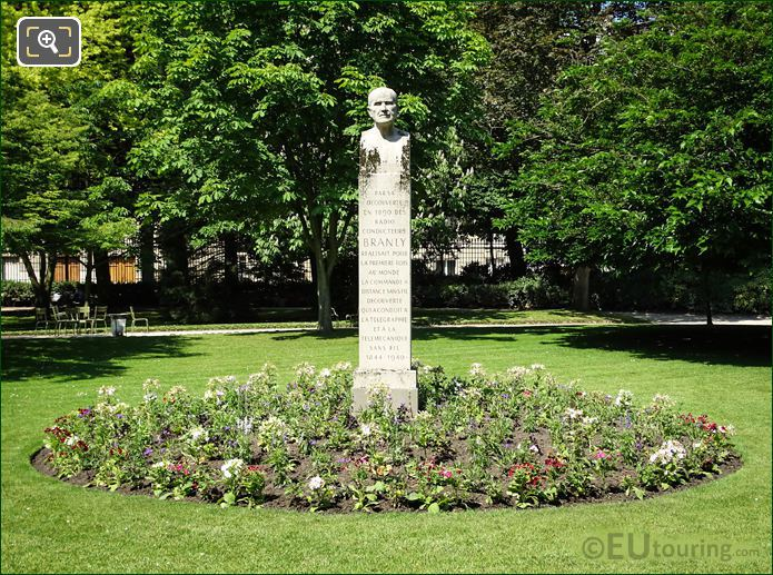 1962 Edouard Branly Monument