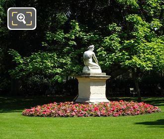 Archidamas Statue Within Jardin du Luxembourg
