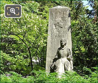 Jardin Du Luxembourg Jules Massenet Monument
