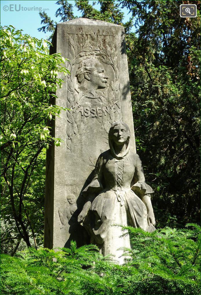 Jules Massenet Monument Luxembourg Gardens