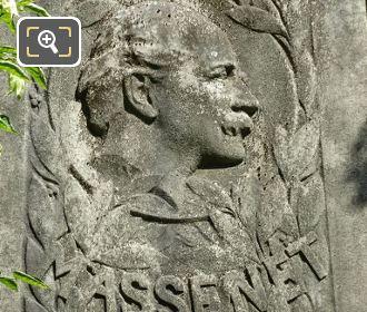 Massenet Bust Carving