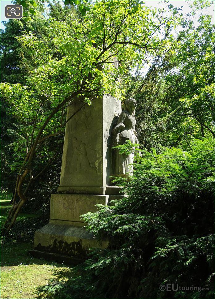 Marble Jules Massenet Monument Paris