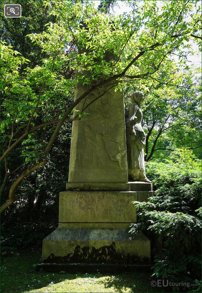 Jules Massenet Monument West Side