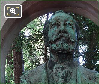 Bronze Bust Jose Maria De Heredia By Victor Segoffin