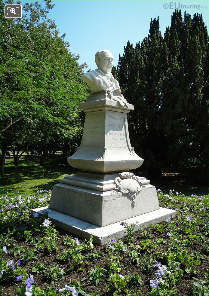 1898 Monument Of Charles Augustin Sainte-Beuve