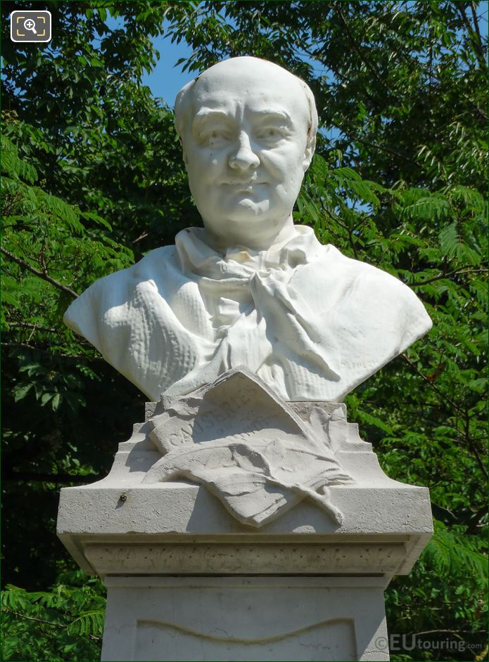Bust Of Charles Sainte-Beuve By Denys Puech