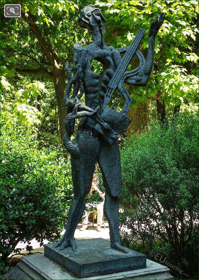 Ossip Zadkine Bronze Statue Le Poete