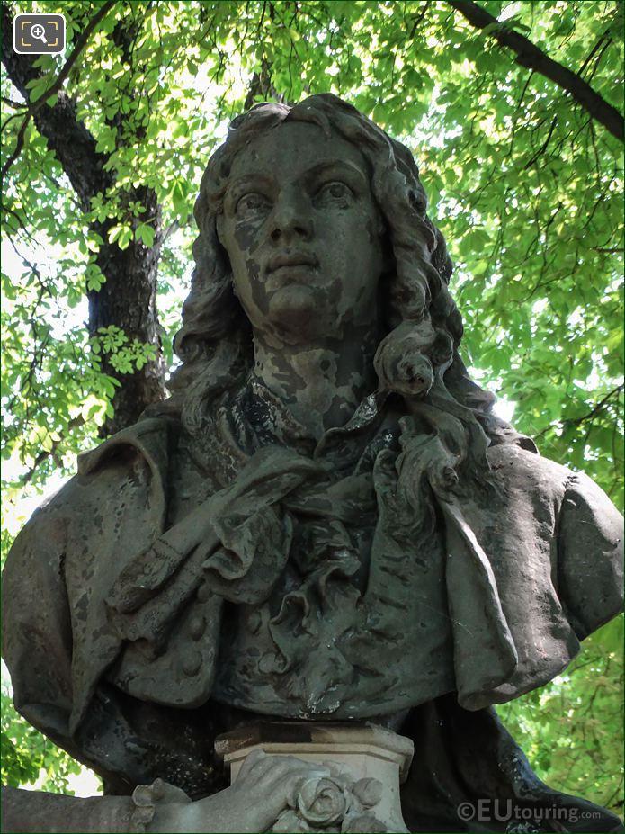 Bust Of Jean Antoine Watteau Jardin Du Luxembourg