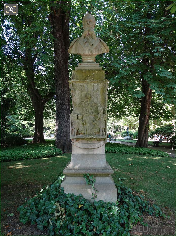Jardin Du Luxembourg Louis Ratisbonne Monument
