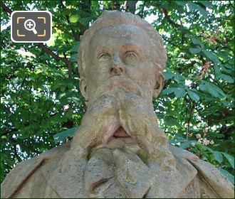 Bust Of Louis Ratisbonne By Emile Soldi