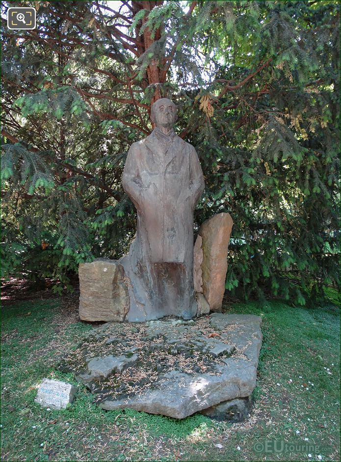 Bronze Statue Of Pierre Mendes France