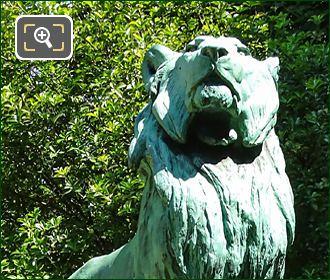 Le Lion De Nubie Et Sa Proie Statue By Auguste Caïn