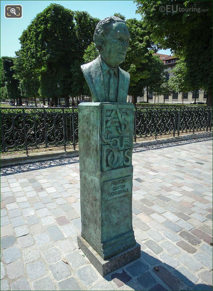 Gaston Monnerville Monument By Jean-Jacques Avangini Foundry