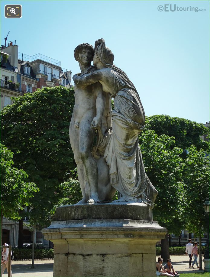 Statue La Nuit By Charles Gumery