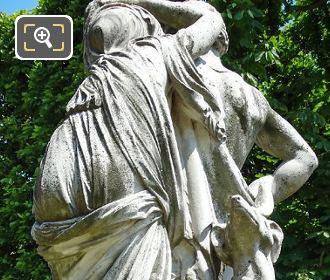 La Nuit Statue Jardin Robert Cavelier De La Sale