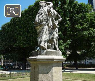 La Nuit Statue On Pedestal 6th Arrondissement