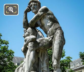 Statue Le Crepuscule Jardin Des Grands Explorateurs